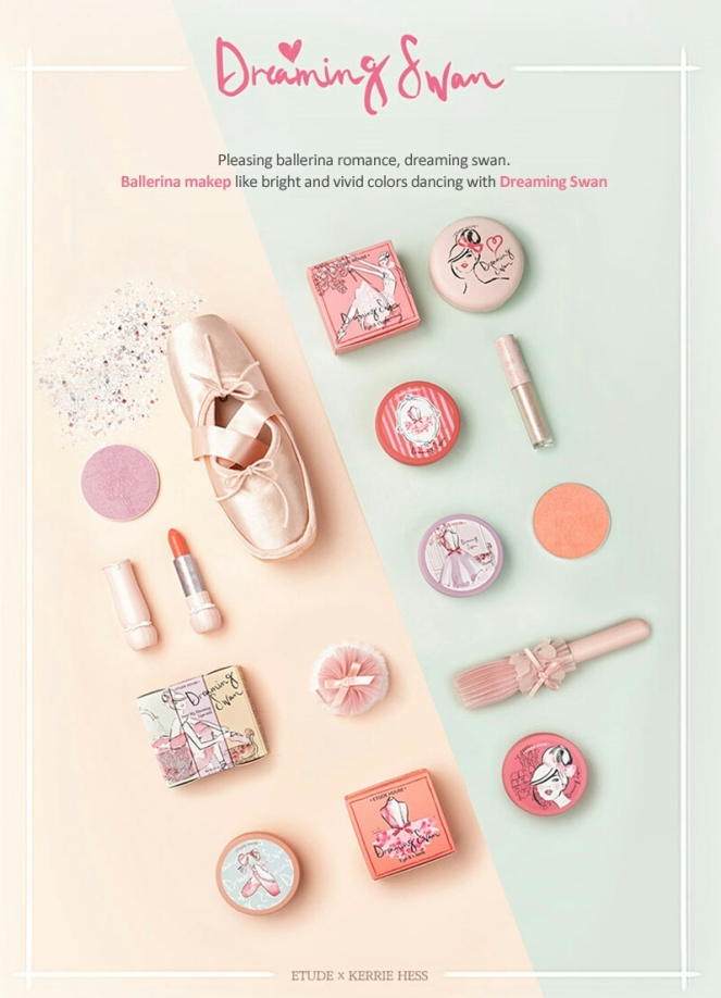 Etude Dreaming Swan Collection