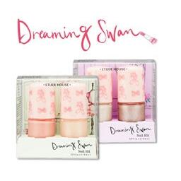 Etude Dreaming Swan Nail Kit