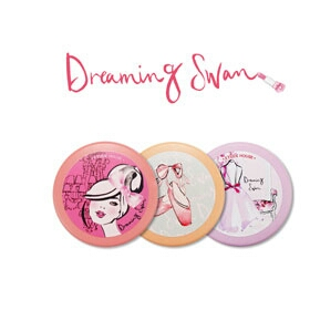 Etude Dreaming Swan ANY Cushion Case