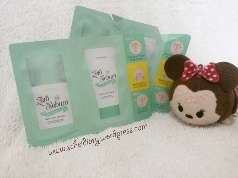 Etude House Zero Sebum Sample